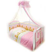 Постельное белье, детское, комплект Twins Comfort С-026 Уточки, розовый