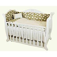 Сменное детское постельное белье Twins Comfort 4 ел. защита, балдахин