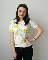 Стильная молодежная футболка Ананасик