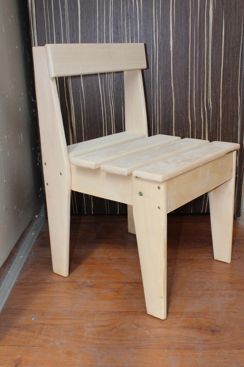 Детский деревянный стульчик Эко