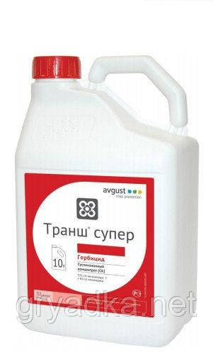 Гербицид Транш супер Август, 10 л суспензионный концентрат