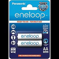 Аккумулятор eneloop panasonic r6 aa 1900 2 штуки (bk-3mcce/2be)