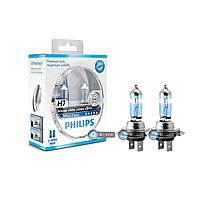 Галогенновая лампа H7 Philips White Vision 12972WHVSM.