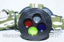 Фонарик BL 6804,Фонарь налобный Police bl-6804,Фонарик ручной для охоты алюминиевый, фото 3