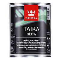 Лак TIKKURILA TAIKA GLOW 0,33л - Специальный светящийся в темноте водоразбавляемый лак.