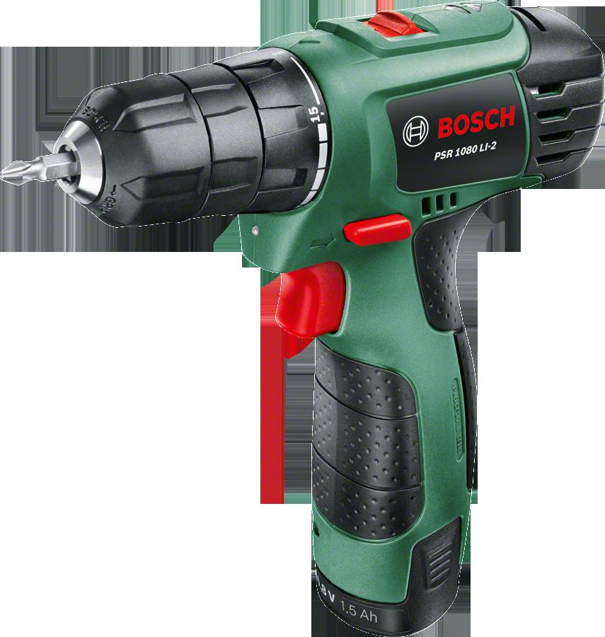 Аккумуляторный шуруповерт BOSCH GSR 1080 LI-2, 06039A2100