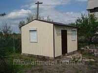 Готовые дачные домики, быстрое строительство под ключ, цена дачного домика Днепр