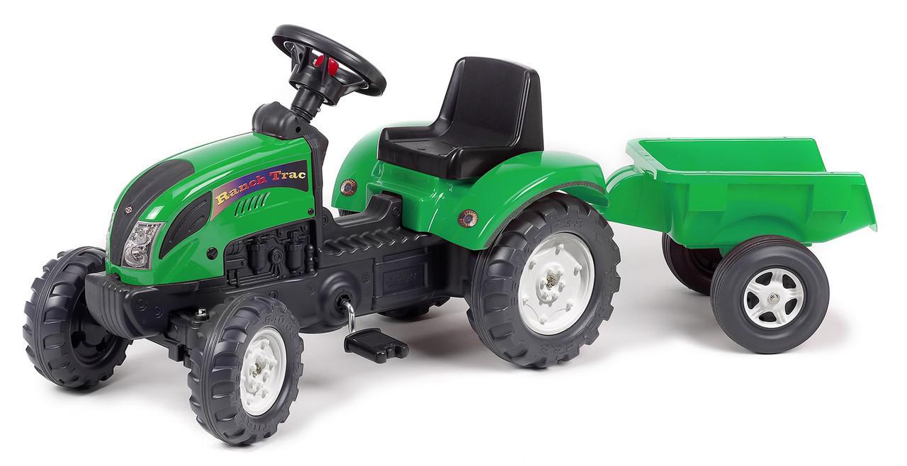 Трактор педальный с прицепом Ranch Trac Falk 2052 AC