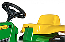 Трактор Педальный Rolly kid John deere Rolly toys 012190, фото 3