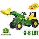 Трактор педальный с прицепом Junior John Deere Rolly Toys 811496, фото 4