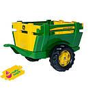 Трактор педальный с прицепом Junior John Deere Rolly Toys 811496, фото 6