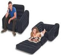Кресло-трансформер 68565 шезлонг 109*218*66 см ЦВЕТ ЧЕРНЫЙ