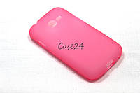 Чехол для Samsung Galaxy Star Plus Duos S7262 розовый, фото 1