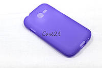 Чехол для Samsung Galaxy Star Plus Duos S7262 фиолетовый, фото 1