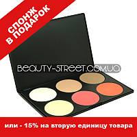 Палитра контуров и румян MAC 6 цветов Оттенок №2