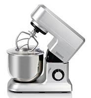 Кухонный комбайн тестомес Royalty Line RL-PKM-1600.5 SILVER 1600Вт, фото 1