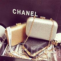 Вечерняя сумка-клатч Chanel Black, фото 3