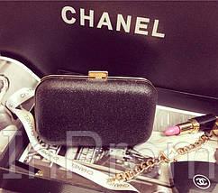 Вечерняя сумка-клатч Chanel Black, фото 2