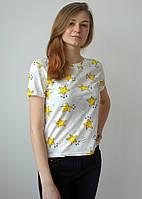 Молодежная летняя футболка с звездами