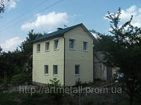Дома, коттеджи под ключ, цена каркасной дачи, стоимость коттеджа