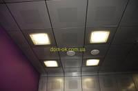 Плита подвесного потолка Армстронг  Плеин/Plain  Microlook 600х600