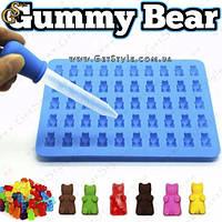 """Силиконовая форма Мишки Гамми - """"Gummy Bear"""""""
