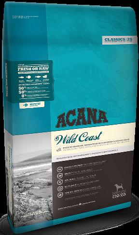 Acana Wild Coast 11,4 кг - беззерновой корм для собак усіх порід з рибою