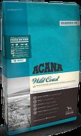 Acana Wild Coast 17кг - беззерновой корм для собак всех пород с рыбой