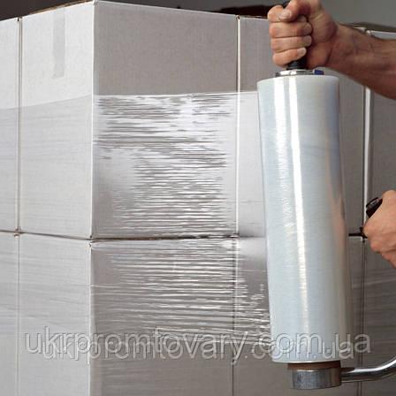 Стрейч пленка - цена прозрачная (20мкм) 500мм, 300 метров Киев, фото 2