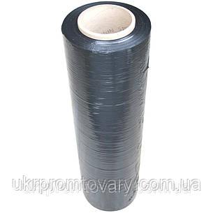 Стрейч пленка черная 20 мкм 500 мм 200 м (2.1 кг), фото 2