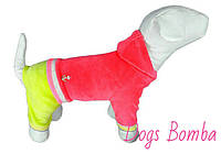 Костюм велюровый с капюшоном Якорь (разные размеры) Dogs Bomba