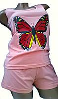"""Пижама женская футболка с шортами """"Bahar"""", Турция"""