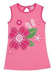 Милая блуза-туника  для девочки р.122, 128