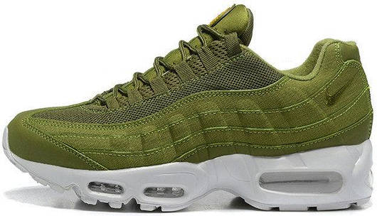 Кроссовки мужские Nike Air Max 95 Green, Найк Аир Макс 95, реплика