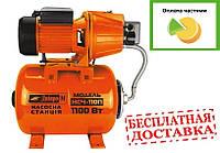 Насосная станция Днипро-М (насос+бак+пульт) НСЧ-110П (чугун) 1.1КВт