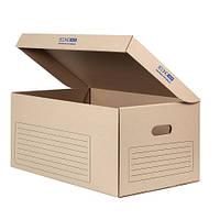 Короб архивный на 6 боксов 535х362х258 КОРИЧНЕВЫЙ