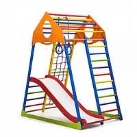 Детский спортивный комплекс раннего развития для дома ТМ SportBaby KindWood Color Plus 1