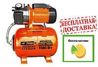 Насосная станция Днипро-М (насос+бак+пульт) НСП-110П (нерж) 1.1КВт