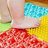 Упражнения с массажным ковриком для ног