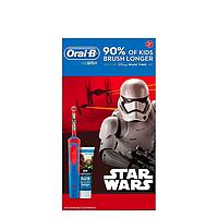 Набор электрическая зубная щетка Braun Oral-B Vitality D12.513K Star Wars Kids + паста Star Wars