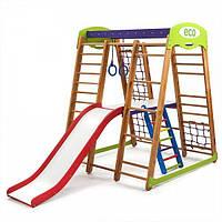 Детский спортивный уголок раннего развития для дома ТМ SportBaby Карапуз Plus 2