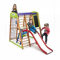 Детский спортивный уголок раннего развития для дома ТМ SportBaby Карапуз Plus 3