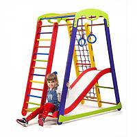 Детский спортивный уголок раннего развития для дома ТМ SportBaby Кроха - 1 Plus 1