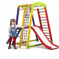 Детский спортивный уголок раннего развития для дома ТМ SportBaby Кроха - 1 Plus 2