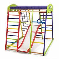 Детский спортивный уголок раннего развития для дома ТМ SportBaby ЮнгаPlus 1