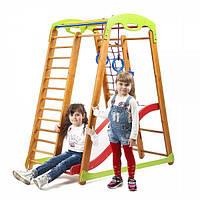 Детский спортивный уголок раннего развития для дома ТМ SportBaby Кроха - 2 Plus 1