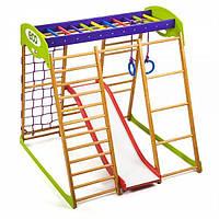 Детский спортивный уголок раннего развития для квартиры ТМ SportBaby Карамелька Plus 1