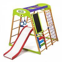 Детский спортивный уголок раннего развития для квартиры ТМ SportBaby Карамелька Plus 3