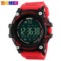 Спортивные смарт часы Skmei Smart watch 1227 Red (Bluetooth)