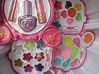 Набор детской декоративной косметики с зеркалом, 4 яруса